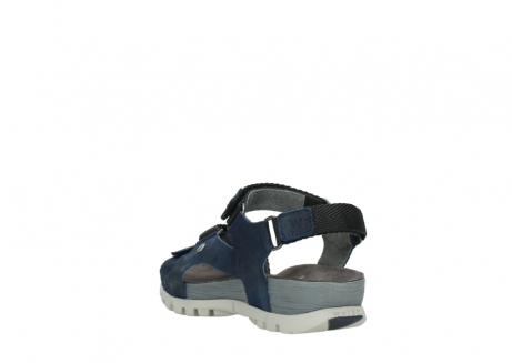 wolky sandalen 05450 cradle 50820 denim greased leather_5