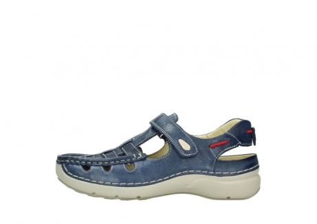 wolky sandalen 07201 rolling summer 30870 blue summer leather_1