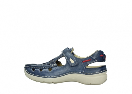 wolky sandalen 07201 rolling summer 30870 blue summer leather_2