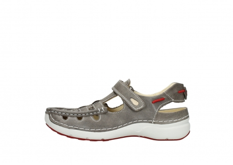 wolky sandalen 07201 rolling summer 35200 grey leather_1