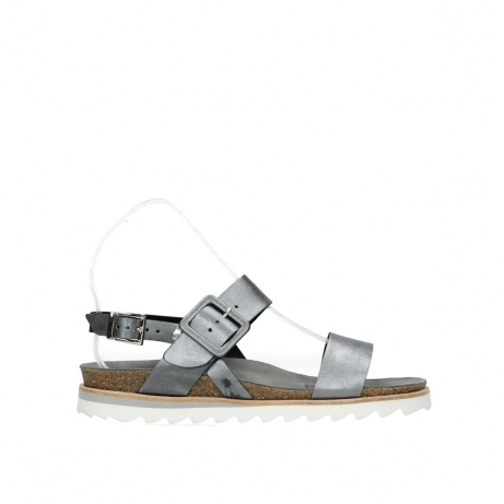 wolky sandalen 08225 minori 85280 metal leather