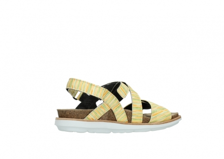 wolky sandalen 08480 sunstone 94907 yellow green leather_11