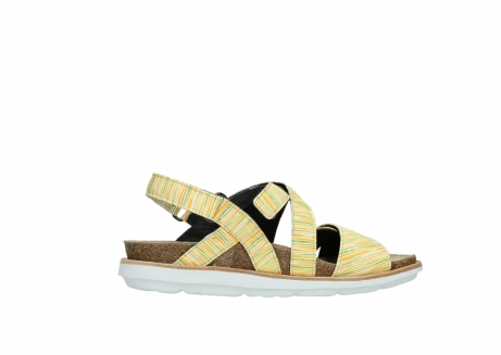 wolky sandalen 08480 sunstone 94907 yellow green leather_12