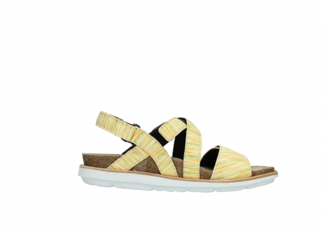 wolky sandalen 08480 sunstone 94907 yellow green leather_13