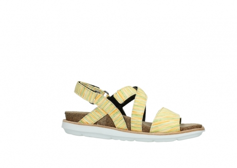 wolky sandalen 08480 sunstone 94907 yellow green leather_14