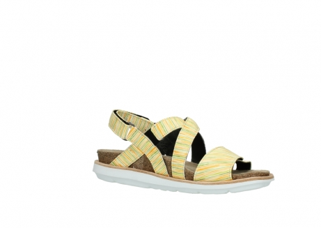 wolky sandalen 08480 sunstone 94907 yellow green leather_15