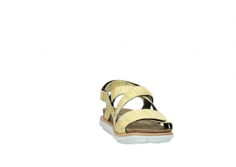 wolky sandalen 08480 sunstone 94907 yellow green leather_18