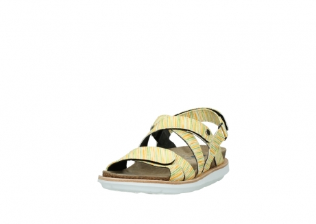 wolky sandalen 08480 sunstone 94907 yellow green leather_21