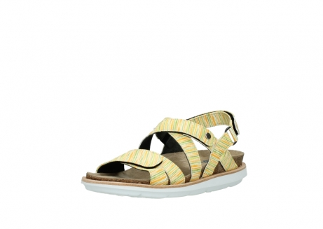 wolky sandalen 08480 sunstone 94907 yellow green leather_22