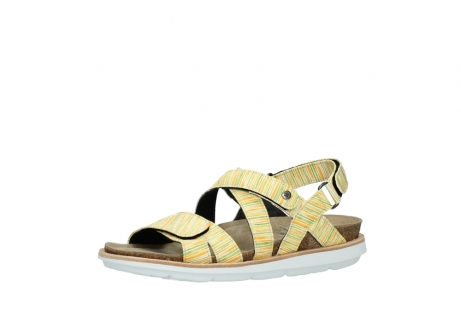 wolky sandalen 08480 sunstone 94907 yellow green leather_23
