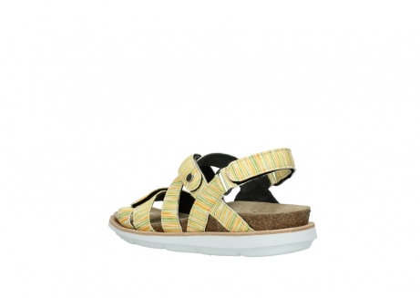 wolky sandalen 08480 sunstone 94907 yellow green leather_4