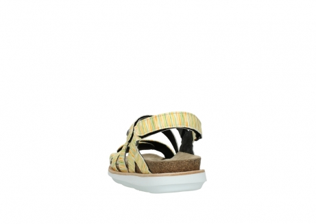 wolky sandalen 08480 sunstone 94907 yellow green leather_6