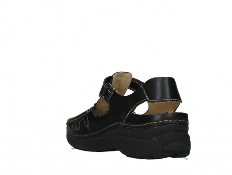 wolky heren sandalen 09209 roll sandal 50000 black leather_17