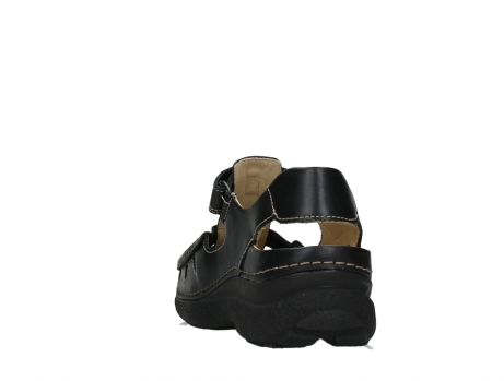 wolky heren sandalen 09209 roll sandal 50000 black leather_18