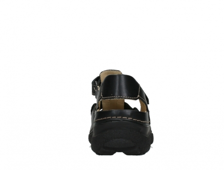 wolky heren sandalen 09209 roll sandal 50000 black leather_19