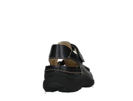 wolky heren sandalen 09209 roll sandal 50000 black leather_20