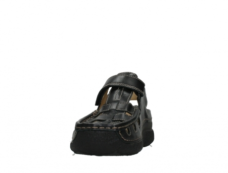 wolky heren sandalen 09209 roll sandal 50000 black leather_8