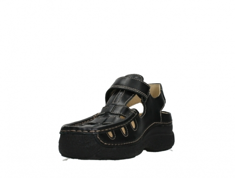 wolky heren sandalen 09209 roll sandal 50000 black leather_9