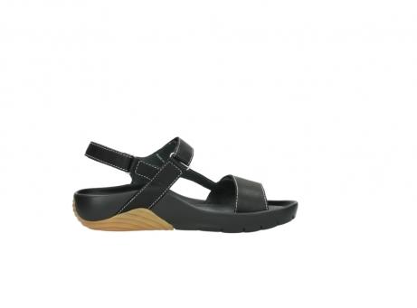 wolky sandalen 1126 bullet 200 zwart leer_13