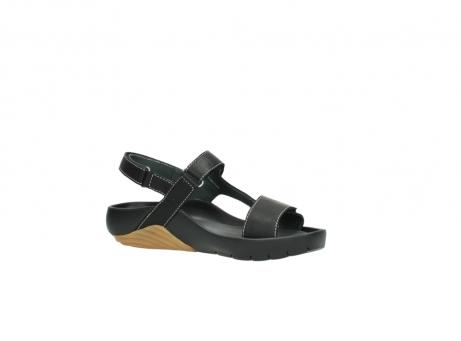 wolky sandalen 1126 bullet 200 zwart leer_15