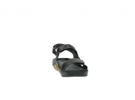 wolky sandalen 1126 bullet 200 zwart leer_18