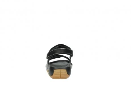 wolky sandalen 1126 bullet 200 zwart leer_7