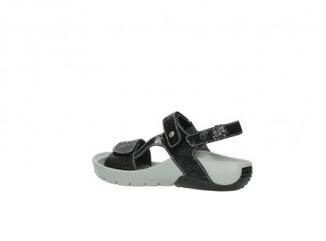 wolky sandalen 1126 bullet 400 zwart craquele leer_3