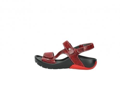 wolky sandalen 1126 bullet 450 rood craqule leer_2
