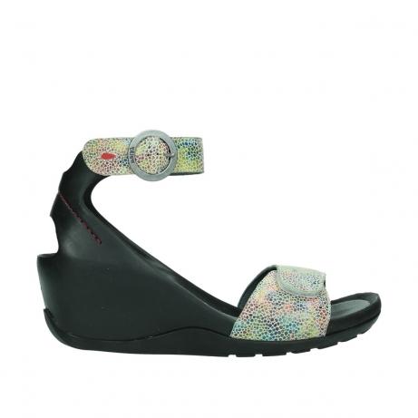 wolky sandalen 1175 ka 412 multi color leer