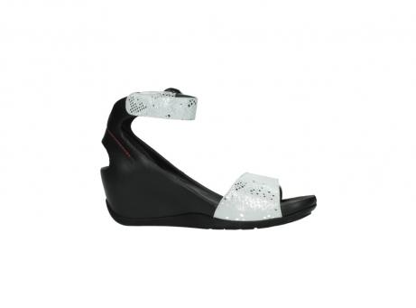 wolky sandalen 1175 ka 413 zilver metallic leer_14