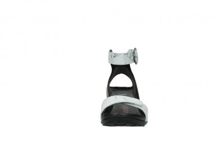 wolky sandalen 1175 ka 413 zilver metallic leer_19
