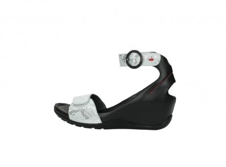 wolky sandalen 1175 ka 413 zilver metallic leer_2