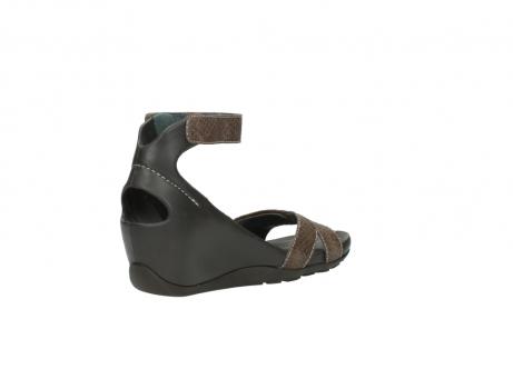 wolky sandalen 1176 do 615 taupe slangenprint leer_10