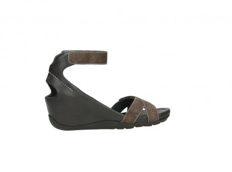 wolky sandalen 1176 do 615 taupe slangenprint leer_12