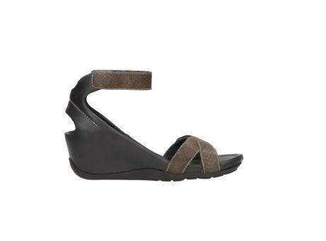 wolky sandalen 1176 do 615 taupe slangenprint leer_13