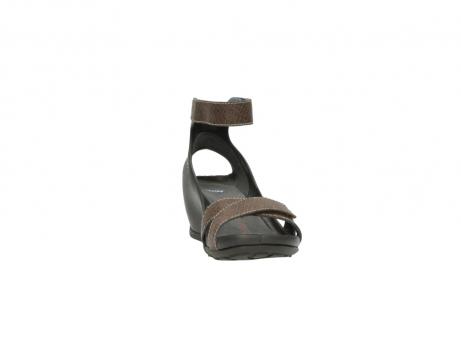 wolky sandalen 1176 do 615 taupe slangenprint leer_18