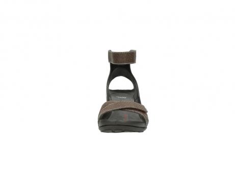 wolky sandalen 1176 do 615 taupe slangenprint leer_19