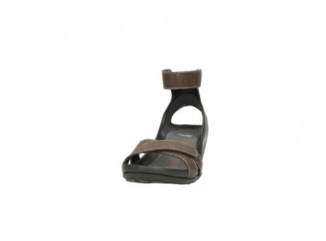 wolky sandalen 1176 do 615 taupe slangenprint leer_20