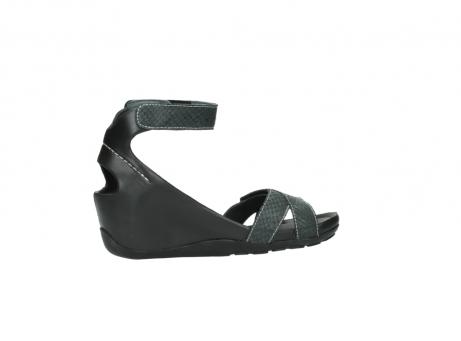 wolky sandalen 1176 do 621 antraciet slangeprint leer_12