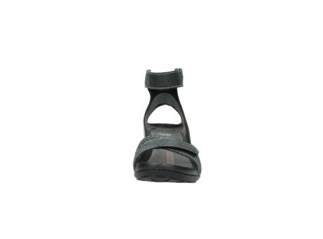 wolky sandalen 1176 do 621 antraciet slangeprint leer_19