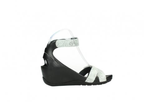 wolky sandalen 1176 do 711 wit zwart canal leer_12