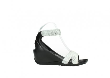 wolky sandalen 1176 do 711 wit zwart canal leer_14