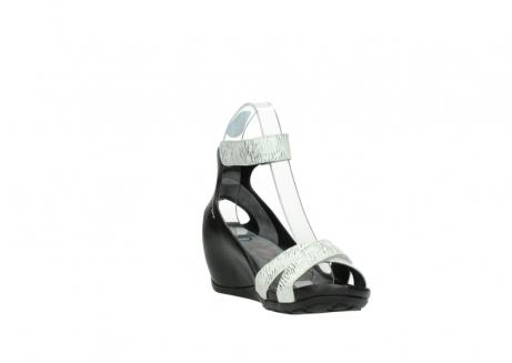 wolky sandalen 1176 do 711 wit zwart canal leer_17