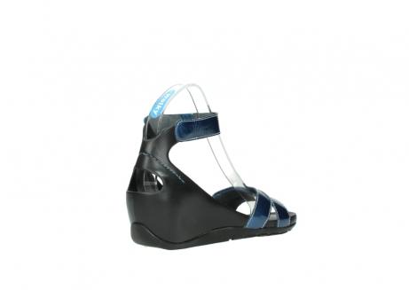 wolky sandalen 1176 do 882 denim metallic lakleer_10