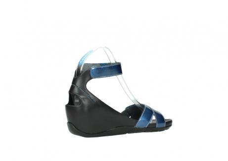 wolky sandalen 1176 do 882 denim metallic lakleer_11