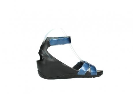 wolky sandalen 1176 do 882 denim metallic lakleer_12