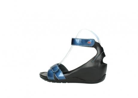 wolky sandalen 1176 do 882 denim metallic lakleer_2