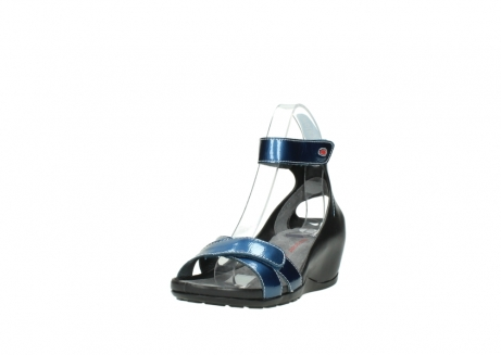 wolky sandalen 1176 do 882 denim metallic lakleer_21