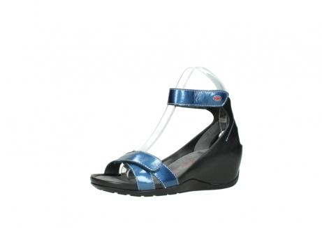 wolky sandalen 1176 do 882 denim metallic lakleer_23