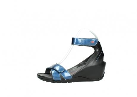 wolky sandalen 1176 do 882 denim metallic lakleer_24